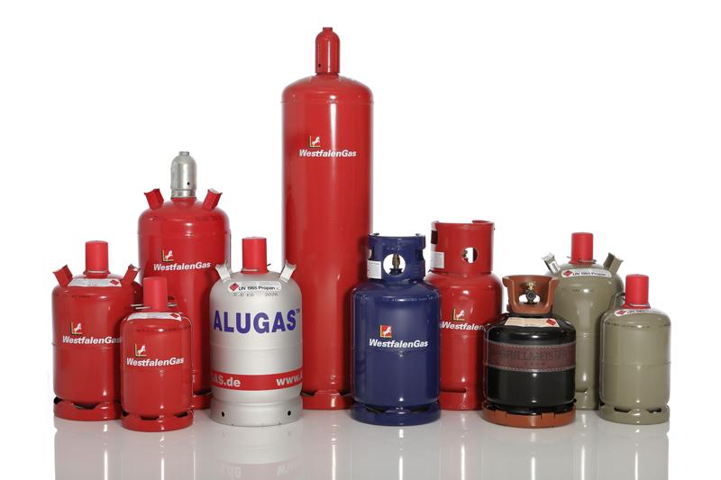 Flaschengase von Westfalen